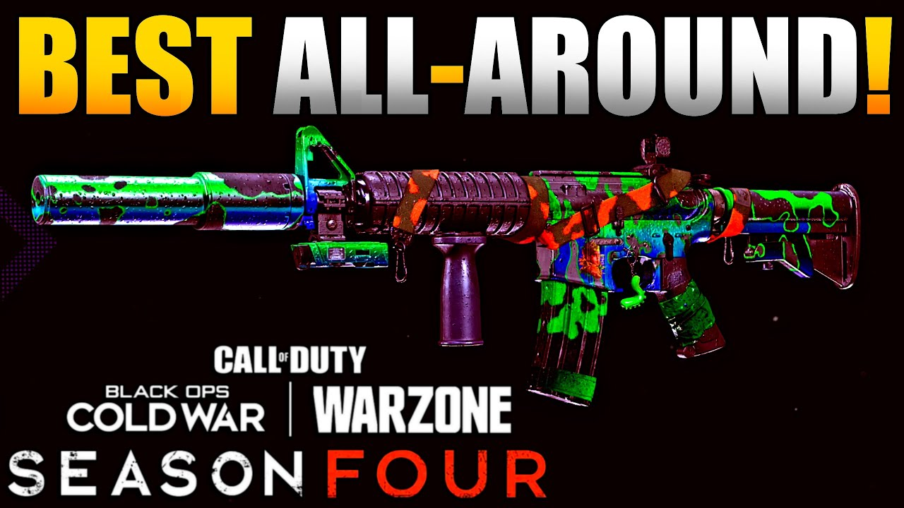 XM4 is the Best All Around Warzone Weapon | Best SMG, Sniper Support & Long Range XM4 Class Setups