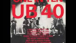 UB40:One in Ten extended mix slideshow