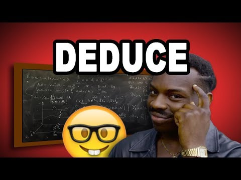 Learn English Words: DEDUCE - Meaning, Vocabulary with Pictures and Examples