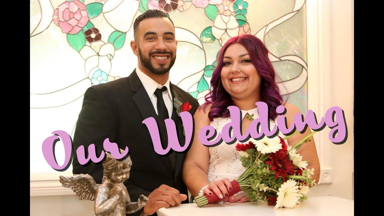 Victor Lorenas Wedding In Las Vegas Cupids Chapel
