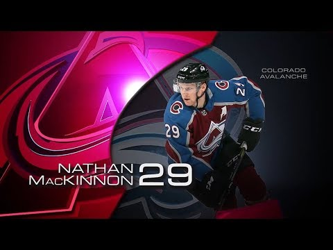 Nathan MacKinnon garners second star of the month