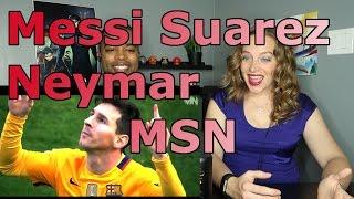 Messi   Suarez   Neymar   MSN ► Skills & Goals  2016 HD (Reaction 🔥)