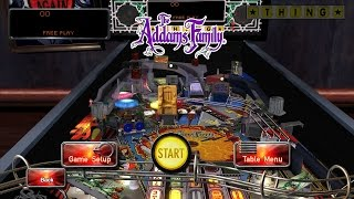 Pinball Arcade - The Addams Family PC Gameplay (60fps)