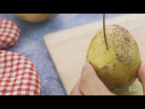 Kartoffeln In Der Mikrowelle Backen