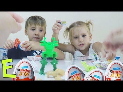 Открытие Киндер крутые Сюрпризы  Opening cool Kinder Surprises