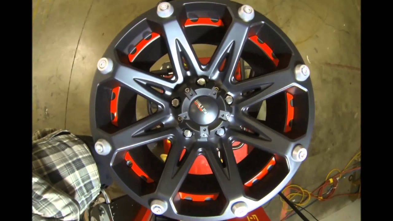 Ballistic Offroad Wheels Jester 814 Black Machined With