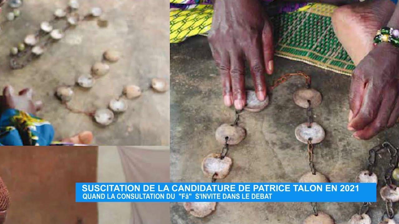 Suscitation de la candidature de Patrice TALON en 2021