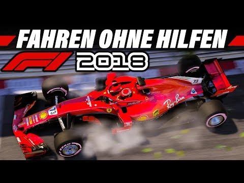 F1 2018 Fahren Ohne Fahrhilfen   Manuell Schalten & Ideallinie   Formel 1 Tutorial Deutsch German