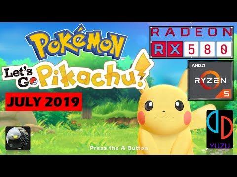 Repeat Pokemon Lets Go Pikachu PC Gameplay   YUZU EMULATOR STABILITY