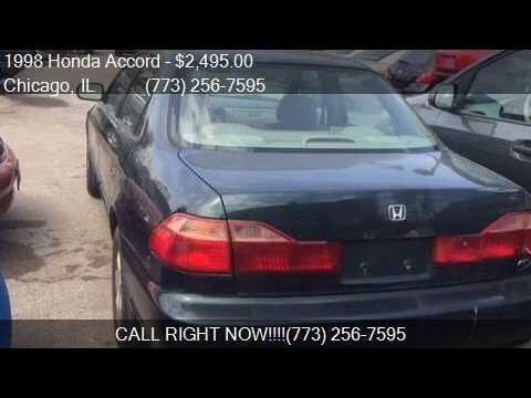 1998 Honda Accord Ex V6 4dr Sedan For Sale In Chicago Il 60 Youtube