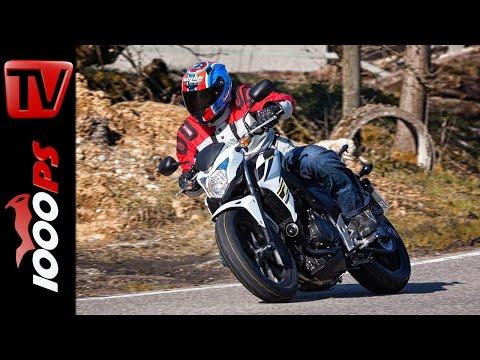 2015 Honda CB500F Test | A2 - 48PS Einsteiger Motorräder