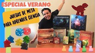 ESPECIAL VERANO - 10 juegos de mesa con los que aprenderás ciencia