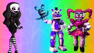 - НОВЫЙ АНИМАТРОНИК Five Nights at Freddy s Sister Location