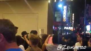 Tablo leaving SMTM4 @ Best Buy Theater NYC 091215