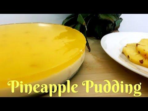 ടേസ്റ്റി പൈനാപ്പിൾ പുഡ്ഡിംഗ്. Pineapple Pudding Recipe in Malayalam. Kerala Recipes.