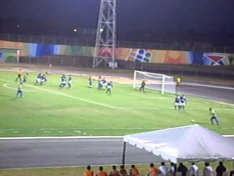 Angostura FC Vs Fund Cesarger CLAUS 2011, PRIMER GOL