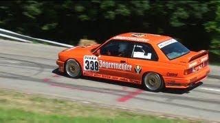 Bmw special of hillclimb reitnau - bergrennen bmw m3 e30 - 1er m coupé - pure sounds - m3 e36