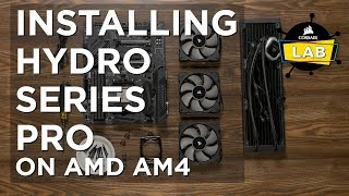 Installing Hydro Series PRO On AMD AM4