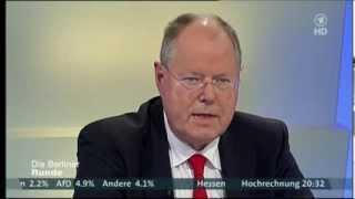 Die Berliner Runde nach der Bundestagswahl 2013 (22/09/2013)