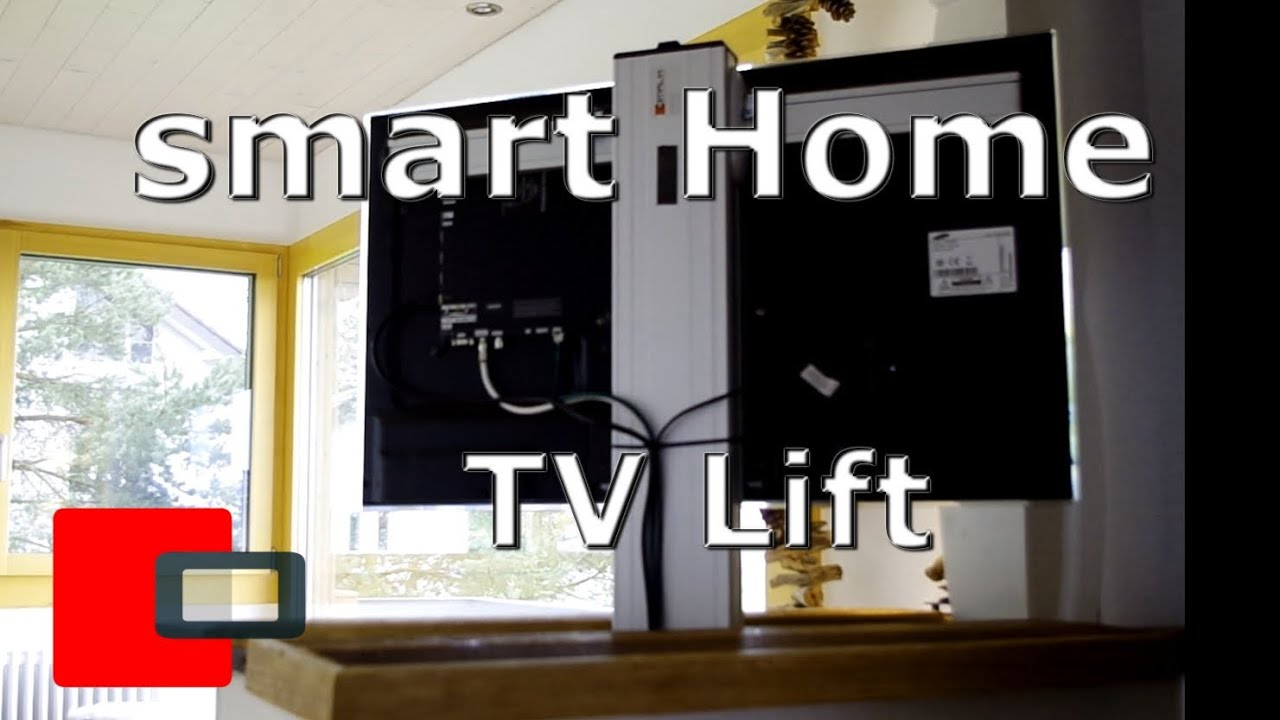 smart home automation tv lift