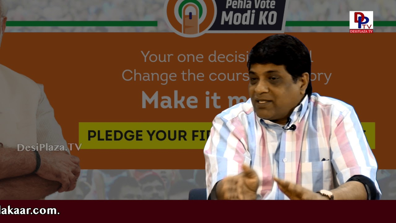 Full Interview Modi Activist - Raghuveer Maripeddi - National & AP Politics -Elections in India.
