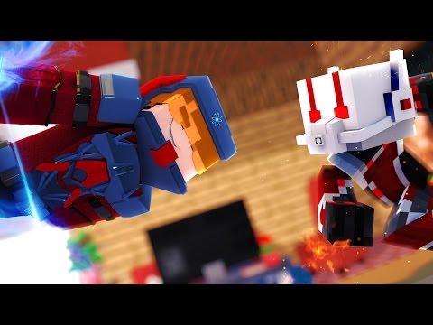 Minecraft:BINGOPVP - DUELO DE PEQUENINOS ( ATOM vs HOMEM FORMIGA ) - ‹ JUAUM ›