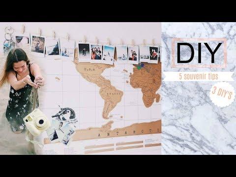 5 SOUVENIR TIPS || 3 DIY'S || EASY