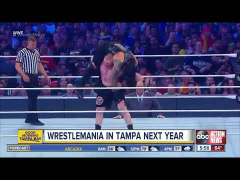 Buster - Wrestlemania as Big as the SUPER BOWL?