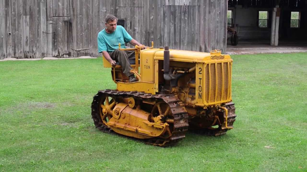 1925 Caterpillar Model 2 Ton Tractor The Ed Westen