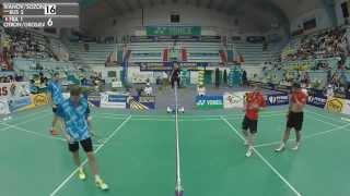 Final (MD) - Ivanov / Sozonov vs Citron / Grosjean - ECC2015