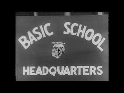 Male Marine Recruiting Film - 1940s