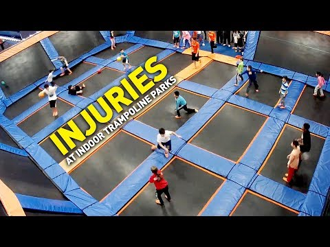Injuries at Indoor Trampoline Parks on the Rise
