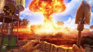 "SHOVEL ONLY ""NUKE"" in COD WW2! (25 Killstreak ""V2 Rocket"")"