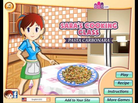 Sara's Cooking Class: Pasta Carbonara - Cooking Games For Kids