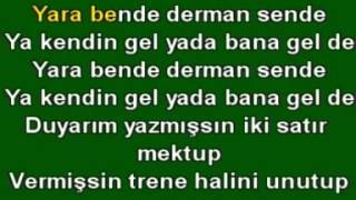 YAVUZ BiNGÖL KARA TREN karaoke version={Feyzocan}