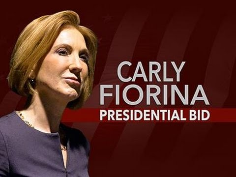 Former Tech Exec Carly Fiorina Launches 2016 Bid