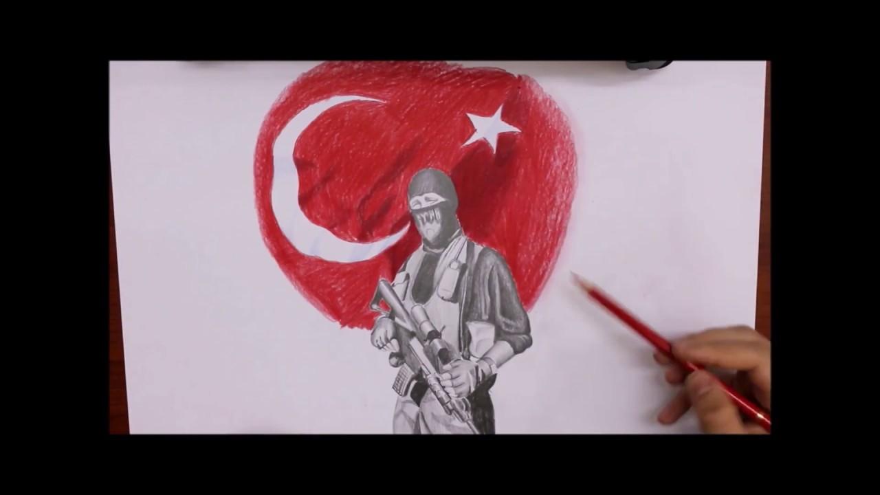 Polis özel Harekat çizimi Turkish Special Force Drawing Youtube