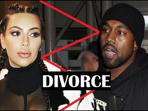 Kim Kardashian DIVORCING Kanye West  & taking the KIDS !!!! YIKES