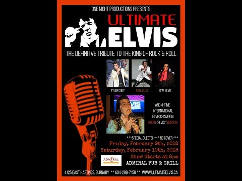 Paul Ellis - Ultimate Elvis Show