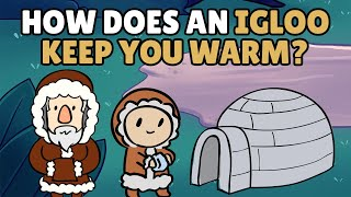 How Does an Igloo Keep You Warm?