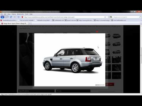 Marbella-Luxury-Car-Hire-4X4-LandRover-RangeRover-Sport.wmv