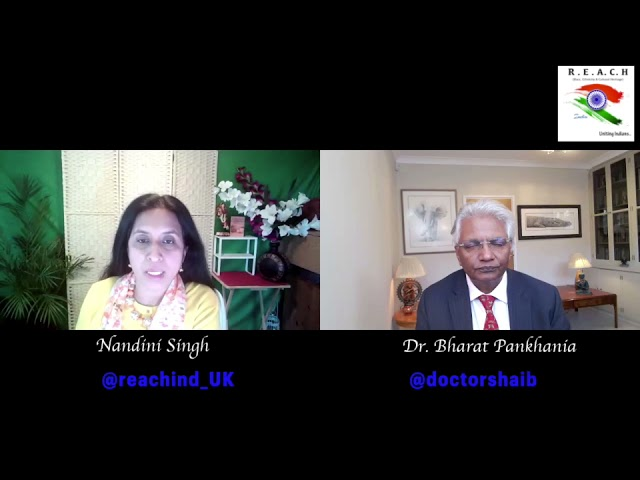Rendezvous with Dr. Bharat Pankhania (Communicable Disease Expert, University of Exeter Lecturer)