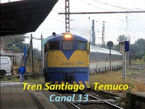 Tren Santiago - Temuco  -  Canal 13 (Tele13)