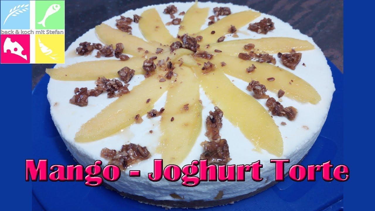 Mango Joghurt Torte Ohne Backen Rezept Tutorial