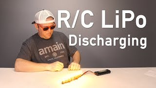 How To Discharge Y๐ur R/C LiPo Batteries - Fast!