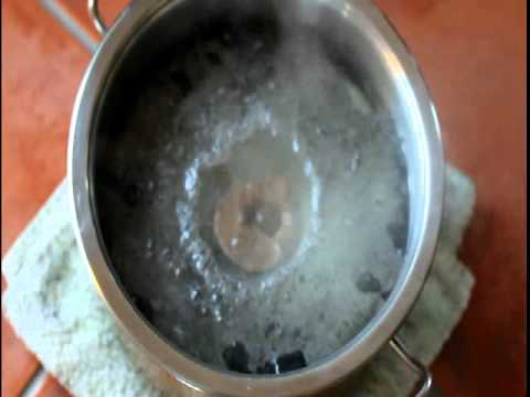 Water casting copper
