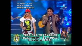 Axl Rose y Juan Gabriel de Yo Soy cautivaron con esta presentación
