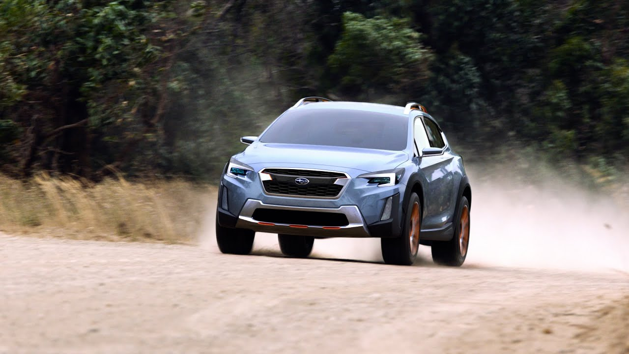 Subaru Xv Concept Youtube