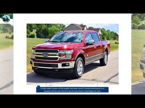 2018 FORD F 150 MODEL OVERVIEW New