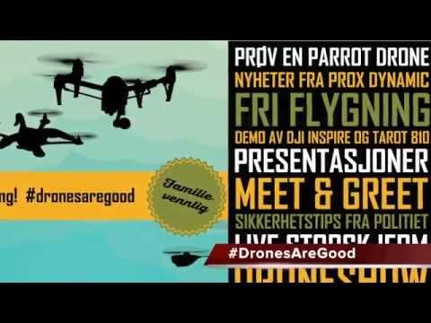 1st International Drone Day in Scandinavia #1stIDD